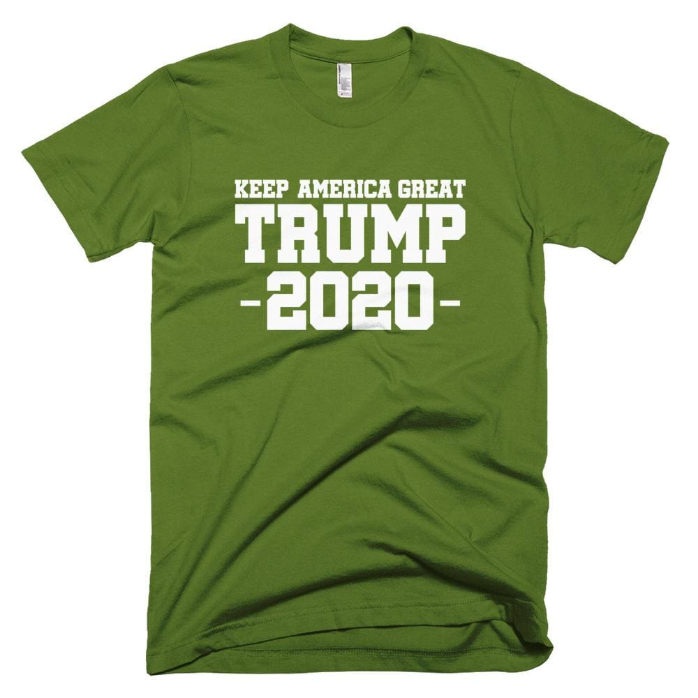 503d5775 Keep America Great Trump 2020 *MADE IN THE USA* Unisex T-Shirt -. Hover to  zoom