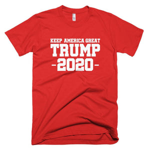 Keep America Great Trump 2020 *MADE IN THE USA* Unisex T-Shirt - Red / XS