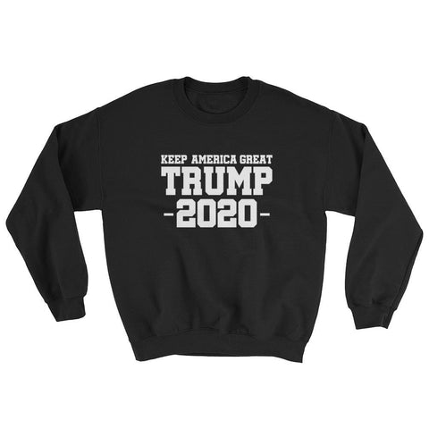Image of Keep America Great Trump 2020 Sweatshirt - Black / S