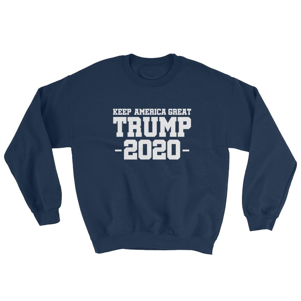 Keep America Great Trump 2020 Sweatshirt - Navy / S
