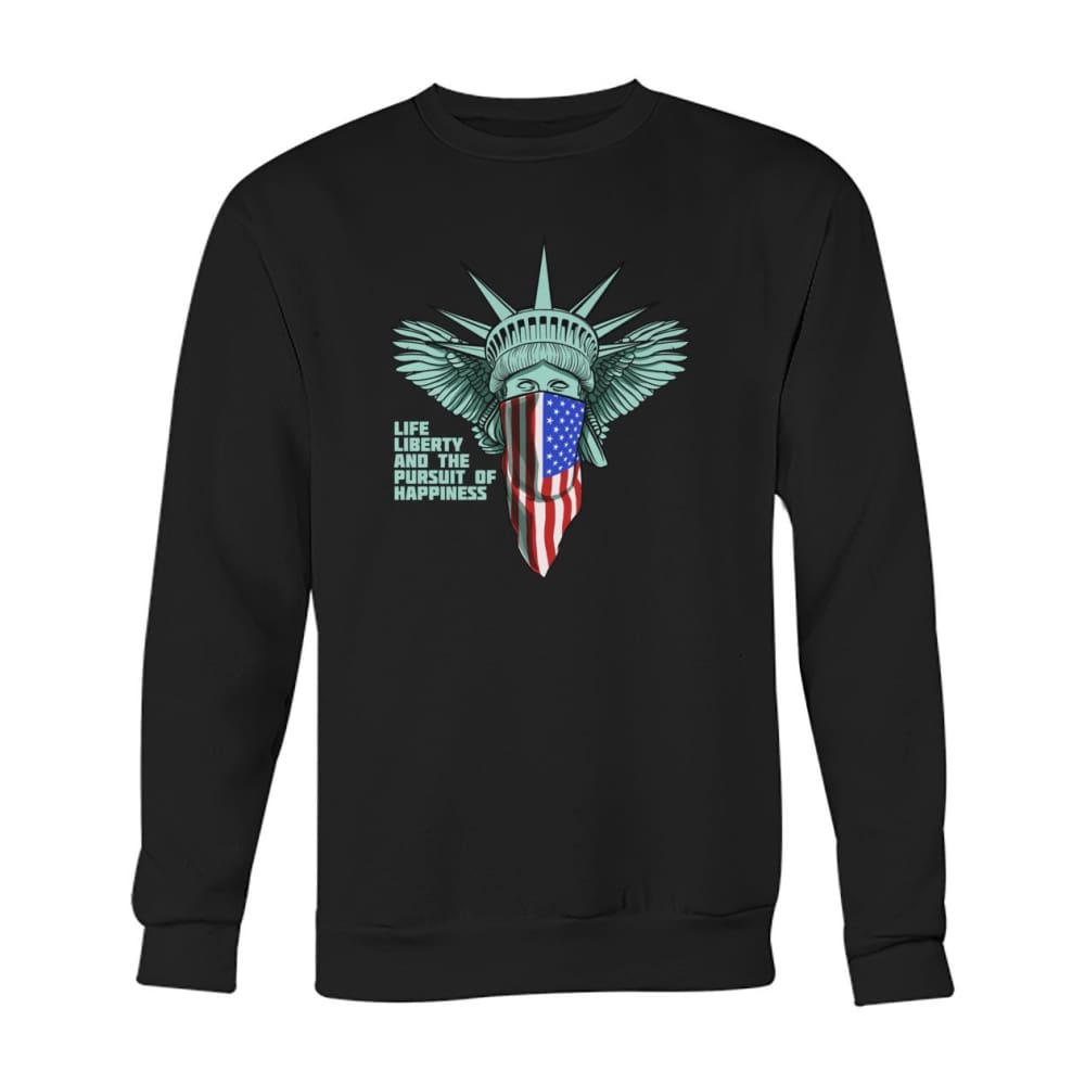 Liberty Sweatshirt - Black / S - Long Sleeves