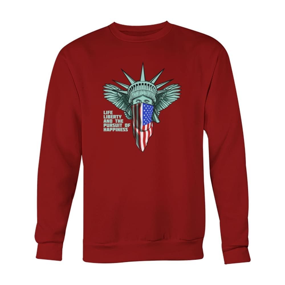 Liberty Sweatshirt - Cardinal Red / S - Long Sleeves