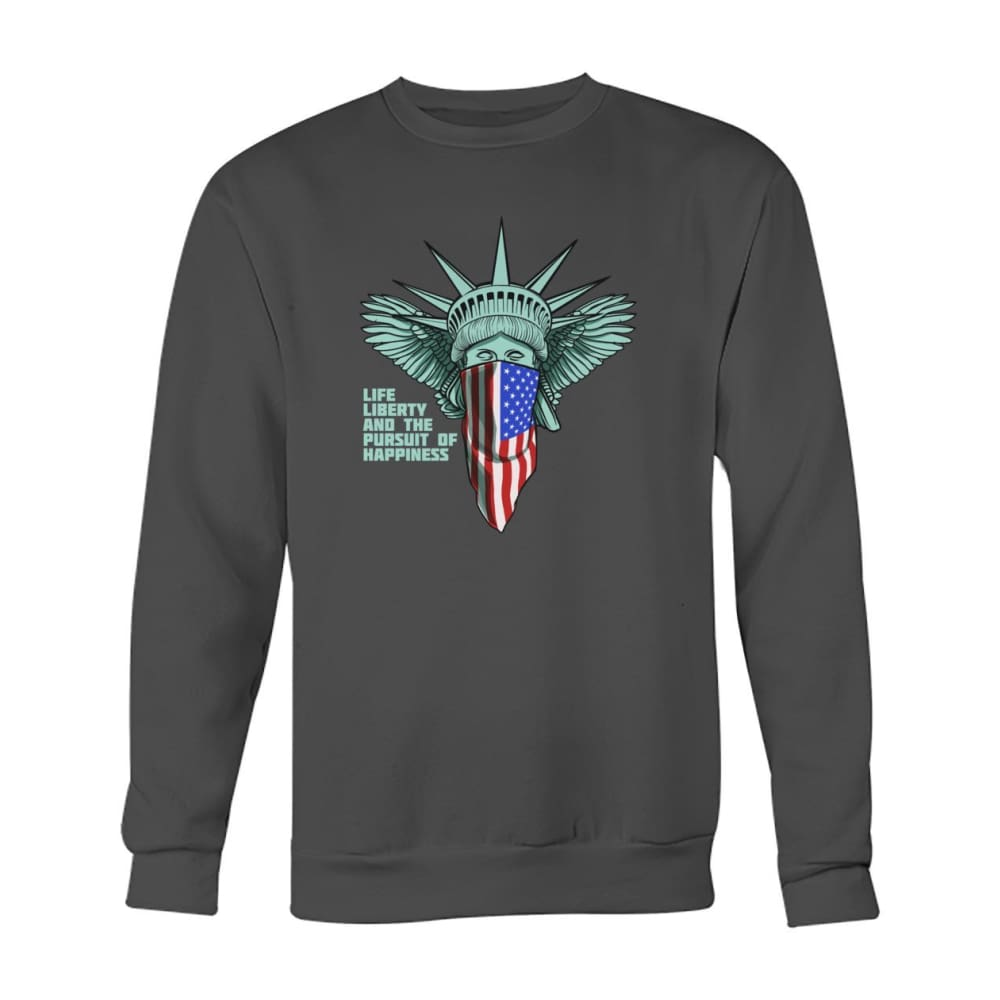 Liberty Sweatshirt - Charcoal / S - Long Sleeves