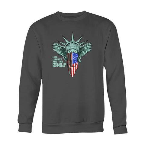 Image of Liberty Sweatshirt - Charcoal / S - Long Sleeves