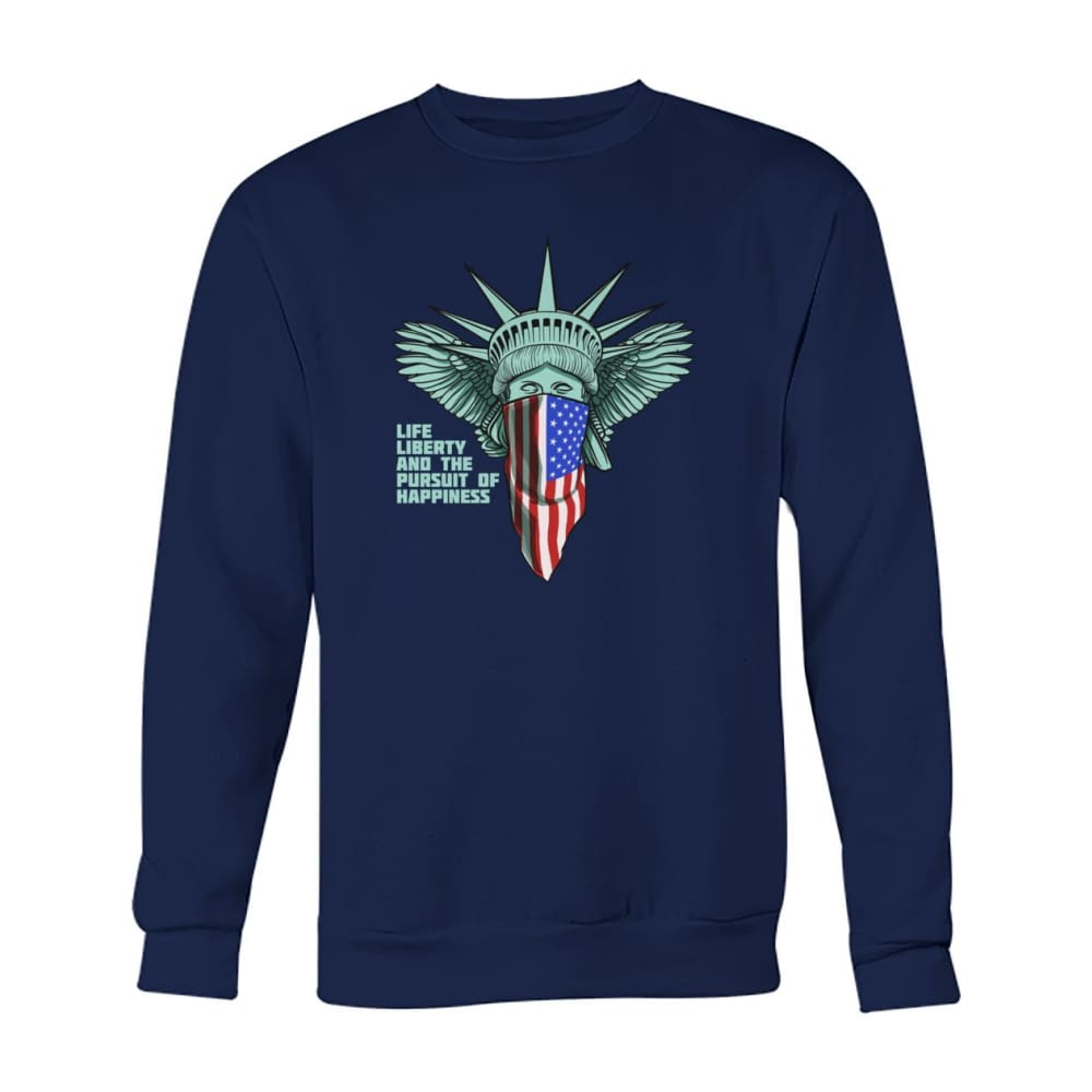 Liberty Sweatshirt - Navy / S - Long Sleeves