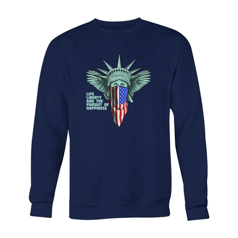 Image of Liberty Sweatshirt - Navy / S - Long Sleeves