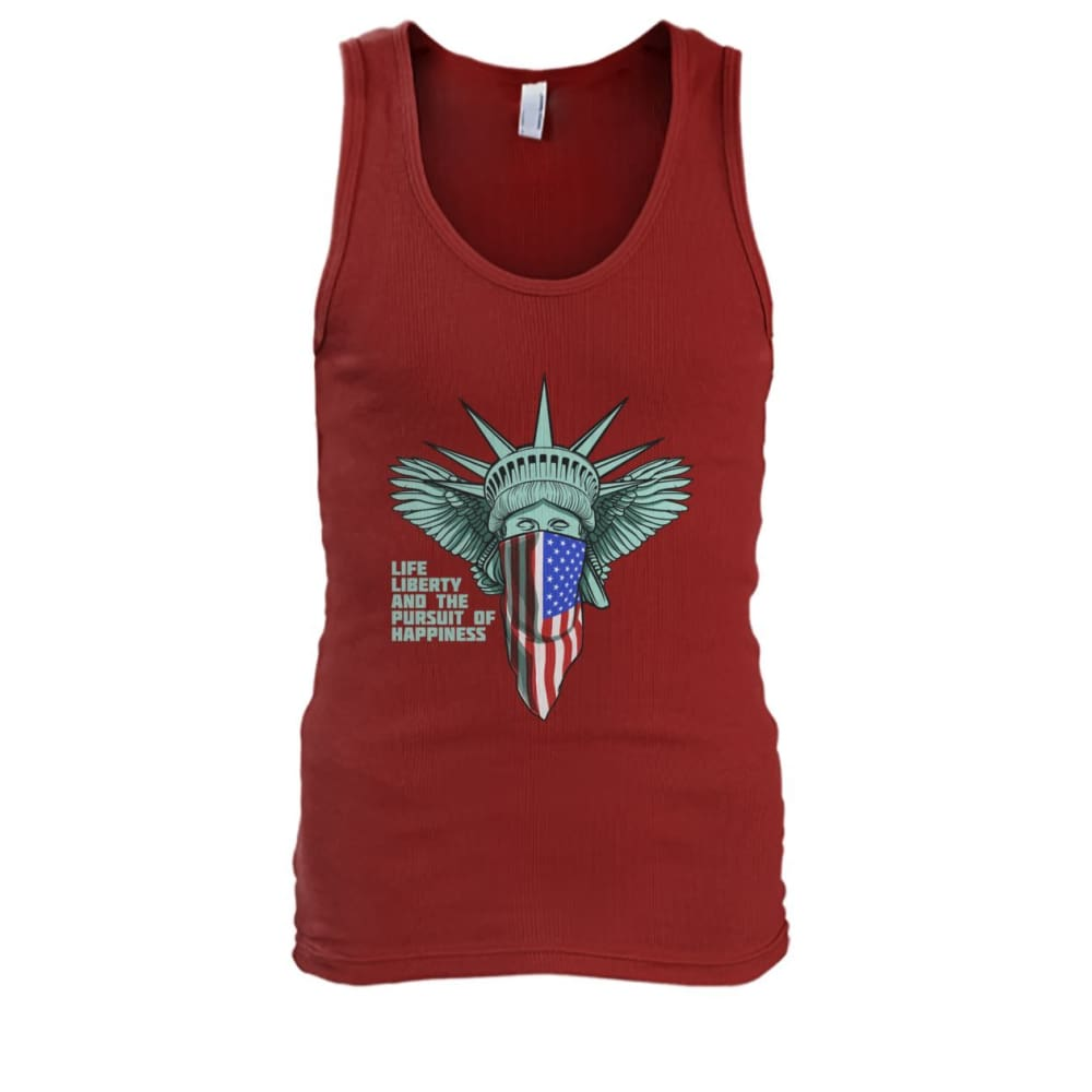 Liberty Tank Top - Cardinal Red / S - Tank Tops