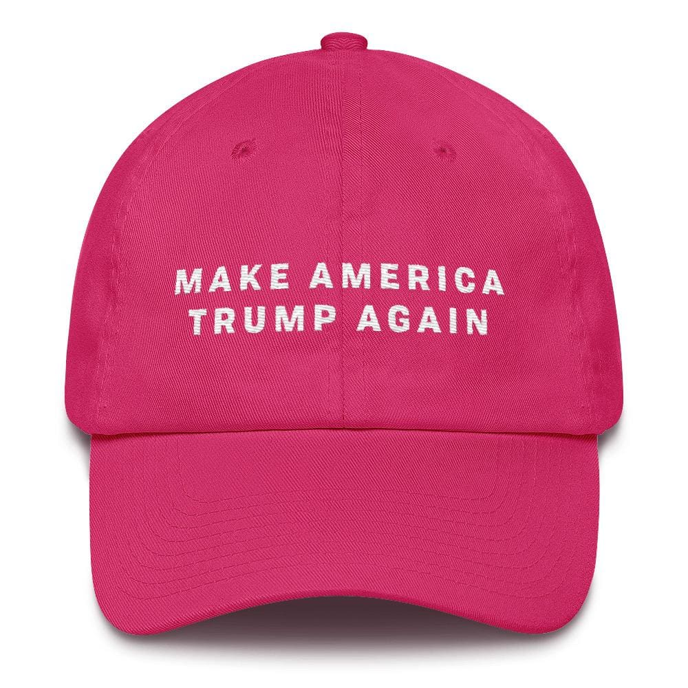 Make America Trump Again *MADE IN THE USA* Hat - Bright Pink