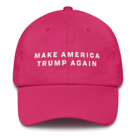 Image of Make America Trump Again *MADE IN THE USA* Hat - Bright Pink