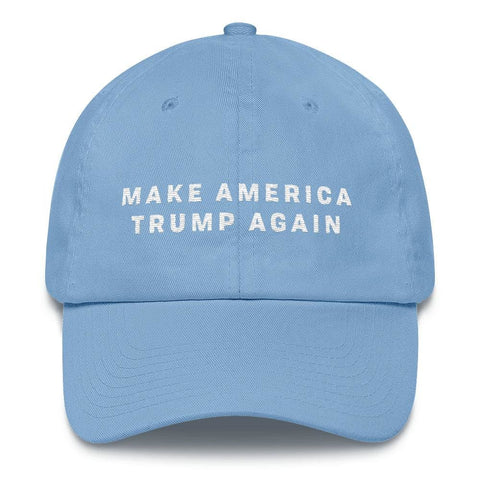 Image of Make America Trump Again *MADE IN THE USA* Hat - Carolina Blue