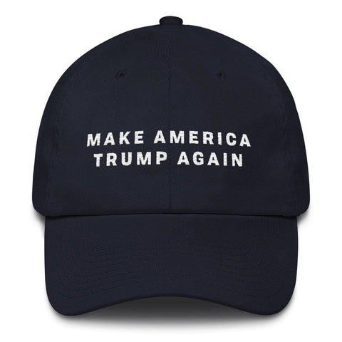 Image of Make America Trump Again *MADE IN THE USA* Hat - Navy