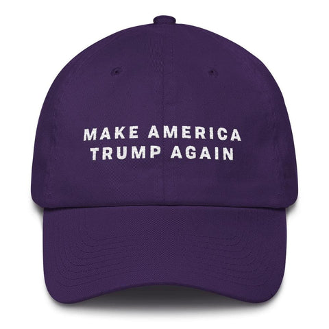 Image of Make America Trump Again *MADE IN THE USA* Hat - Purple