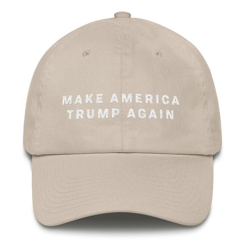 Image of Make America Trump Again *MADE IN THE USA* Hat - Stone