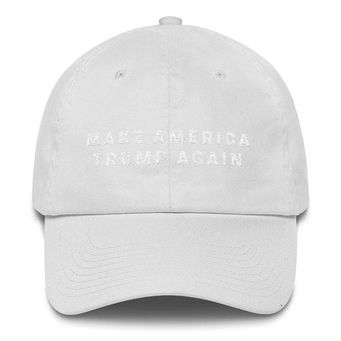 Image of Make America Trump Again *MADE IN THE USA* Hat - White