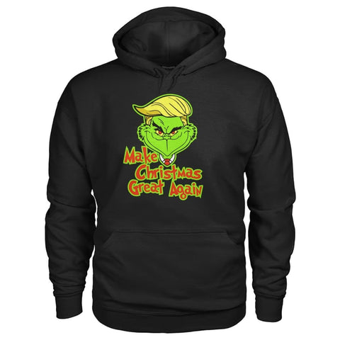 Image of Make Christmas Great Again Hoodie - Black / S - Hoodies