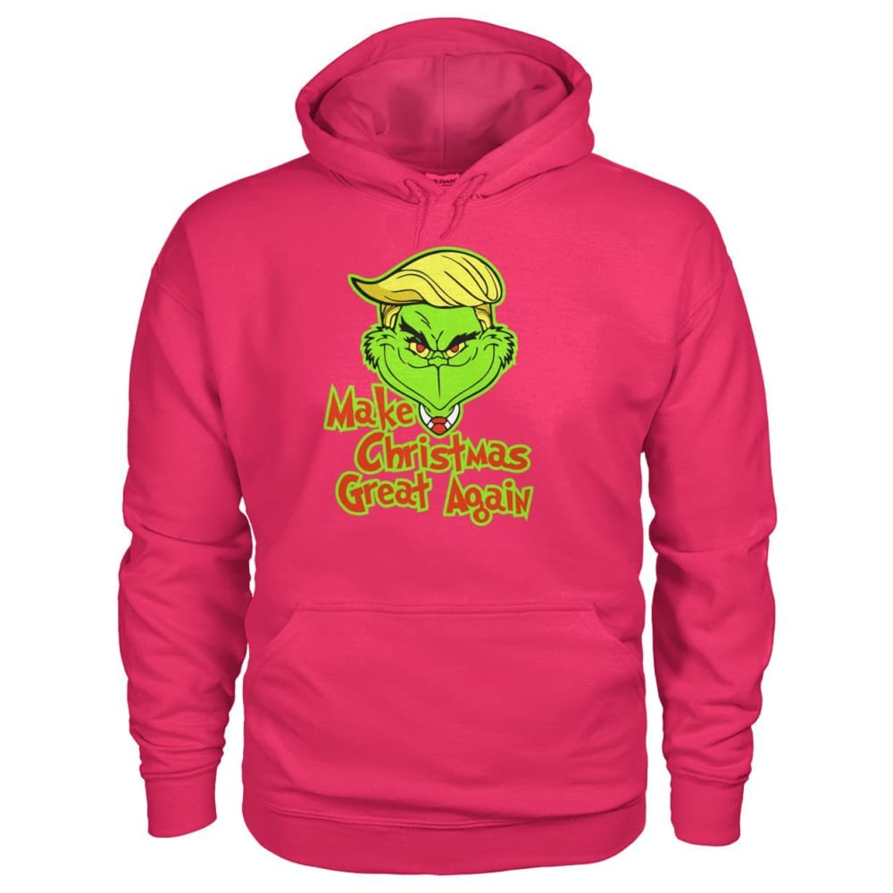 Make Christmas Great Again Hoodie - Heliconia / S - Hoodies