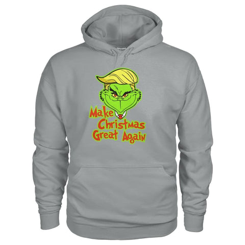 Image of Make Christmas Great Again Hoodie - Sport Grey / S - Hoodies
