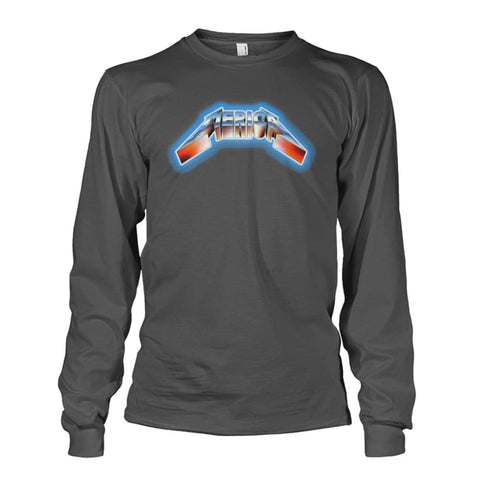 Image of Merica Long Sleeve - Charcoal / S - Long Sleeves
