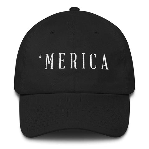Image of MERICA *MADE IN THE USA* Hat - Black