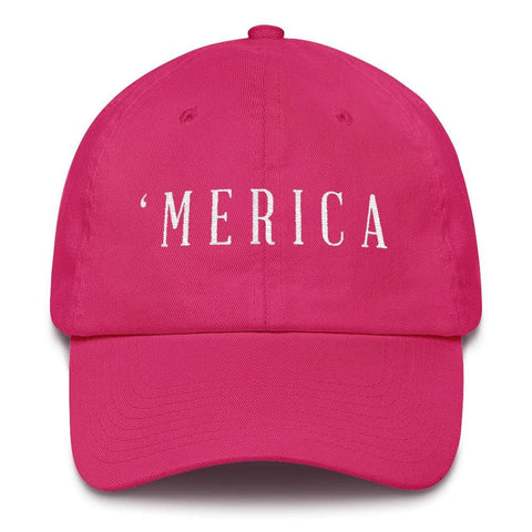 Image of MERICA *MADE IN THE USA* Hat - Bright Pink