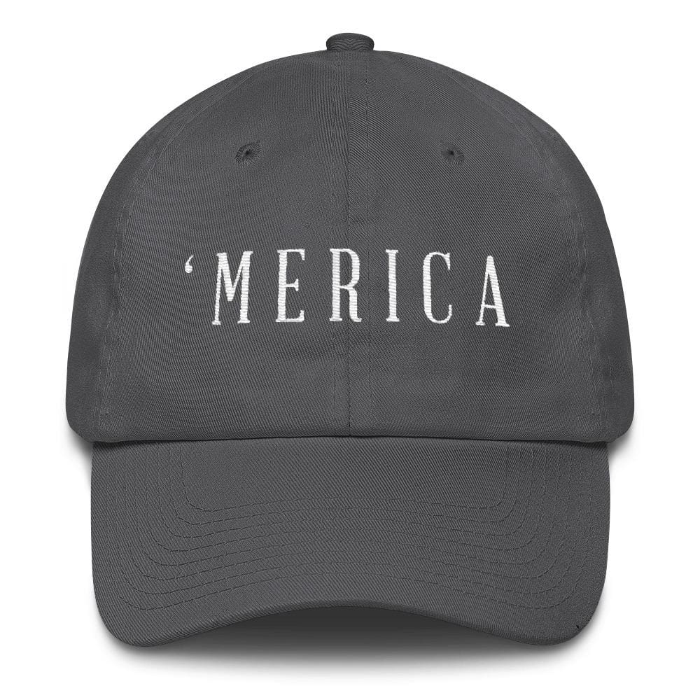 MERICA *MADE IN THE USA* Hat - Charcoal