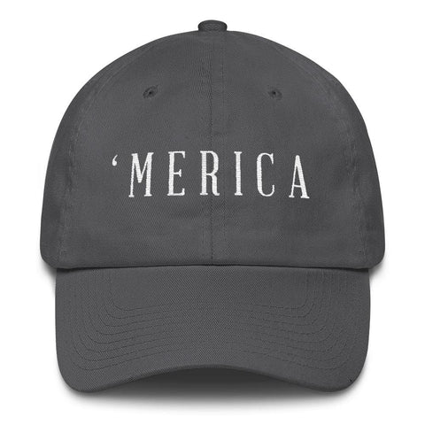 Image of MERICA *MADE IN THE USA* Hat - Charcoal
