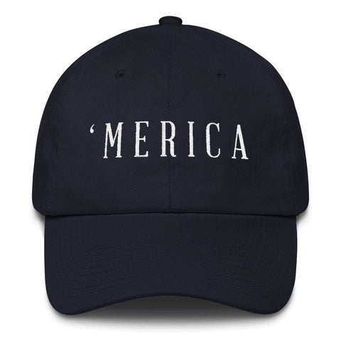 Image of MERICA *MADE IN THE USA* Hat - Navy