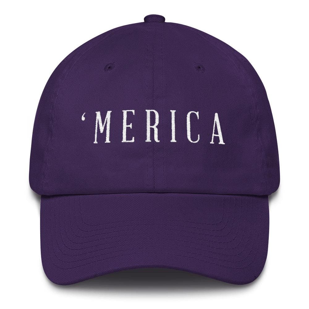 MERICA *MADE IN THE USA* Hat - Purple