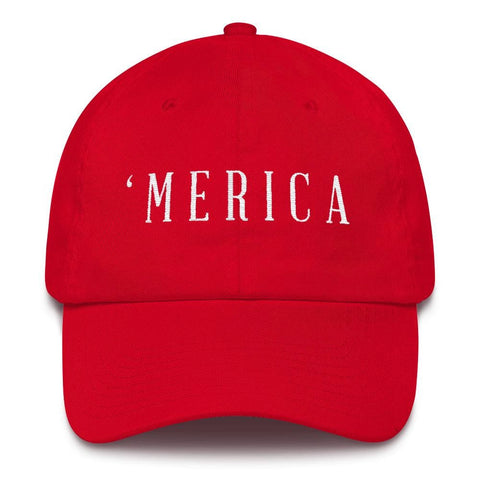 Image of MERICA *MADE IN THE USA* Hat - Red