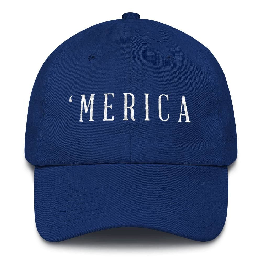 MERICA *MADE IN THE USA* Hat - Royal Blue