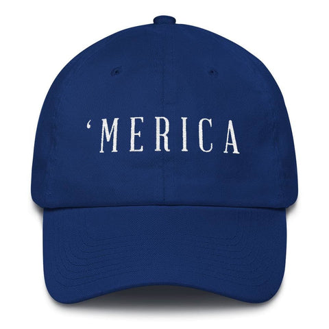 Image of MERICA *MADE IN THE USA* Hat - Royal Blue