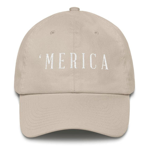 Image of MERICA *MADE IN THE USA* Hat - Stone