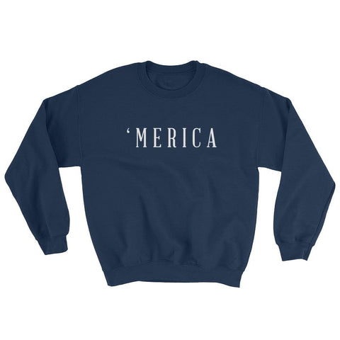 Image of MERICA Sweatshirt - Navy / S
