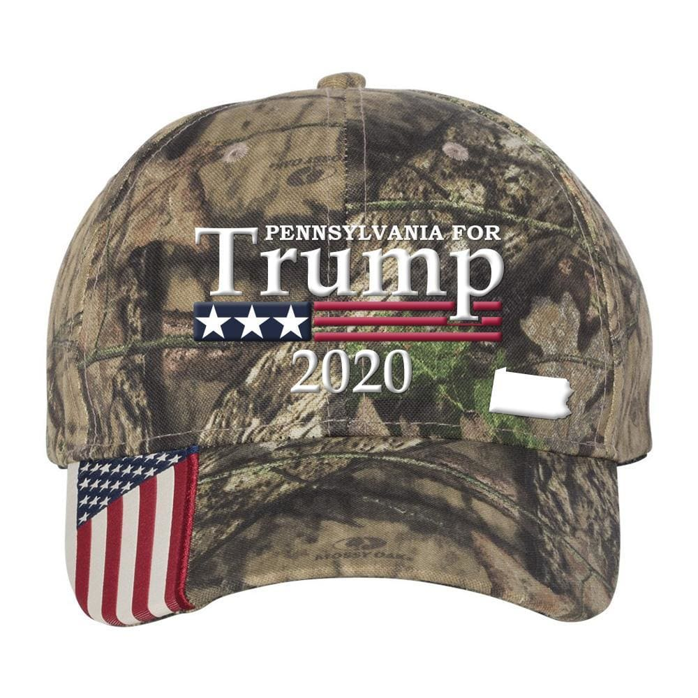 Pennsylvania For Trump 2020 Hat - Mossy Oak Country