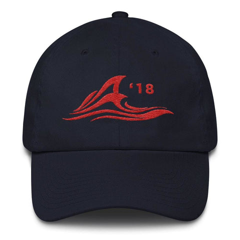 Image of Red Wave *MADE IN THE USA* Hat - Navy