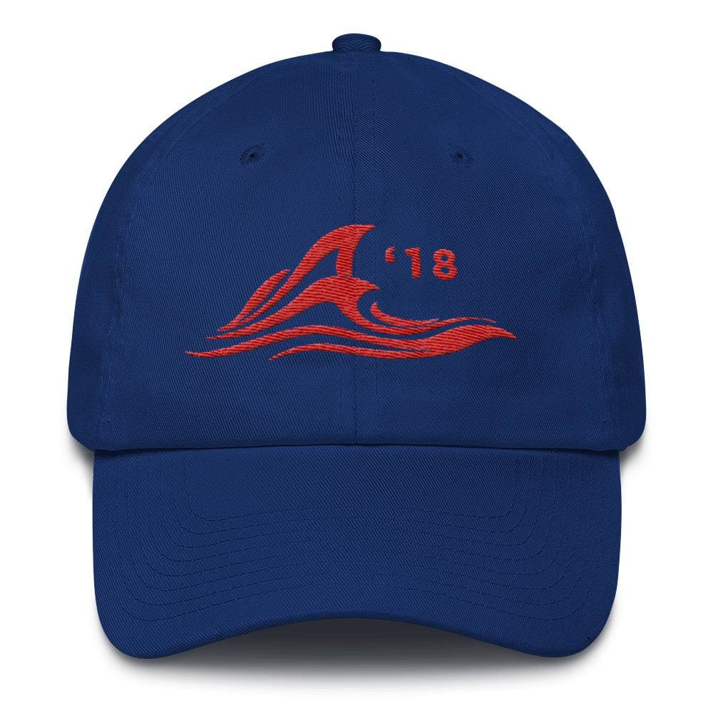 Red Wave *MADE IN THE USA* Hat - Royal Blue