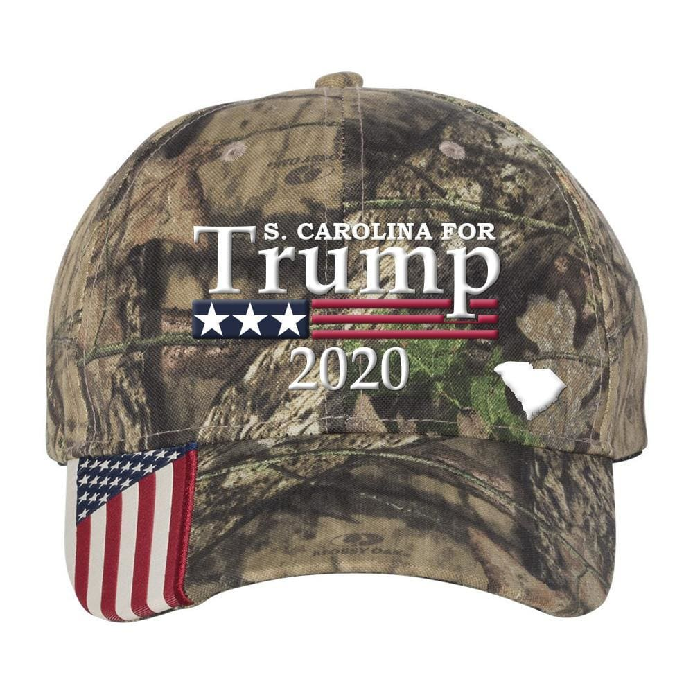 South Carolina For Trump 2020 Hat - Mossy Oak Country