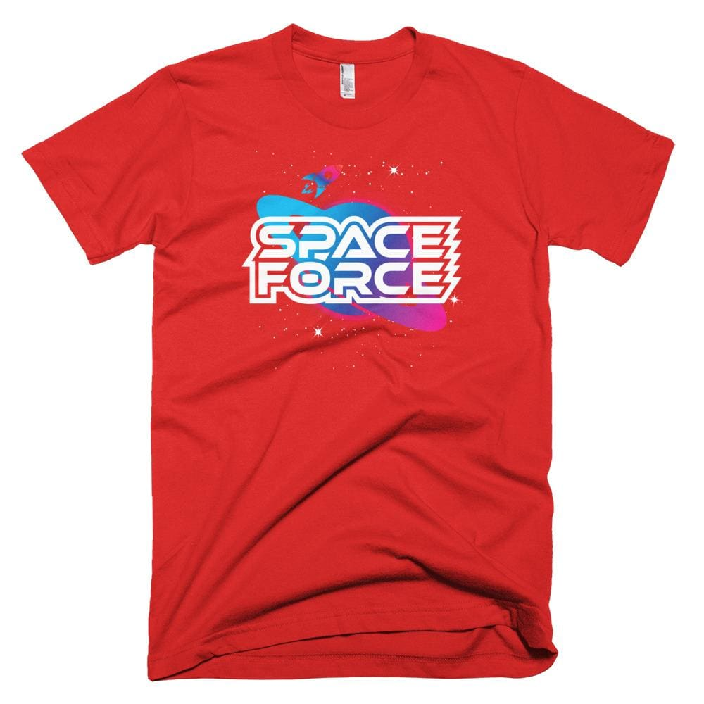 Space Force *MADE IN THE USA* Unisex T-shirt - Red / XS