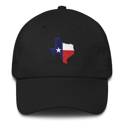 Image of Texas *MADE IN THE USA* Hat - Black