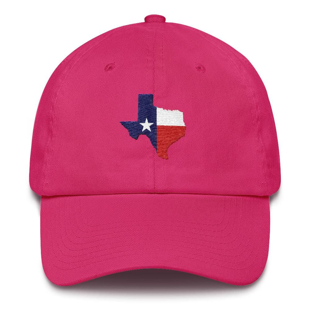 Texas *MADE IN THE USA* Hat - Bright Pink