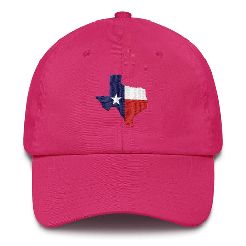 Image of Texas *MADE IN THE USA* Hat - Bright Pink