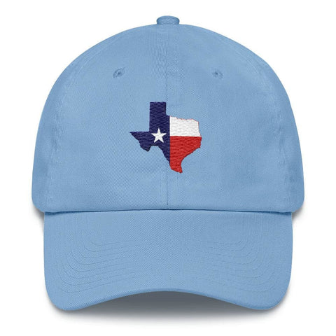 Image of Texas *MADE IN THE USA* Hat - Carolina Blue
