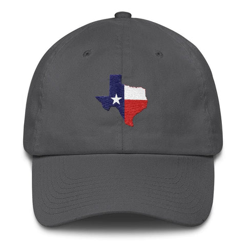 Image of Texas *MADE IN THE USA* Hat - Charcoal