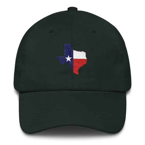 Image of Texas *MADE IN THE USA* Hat - Forest Green