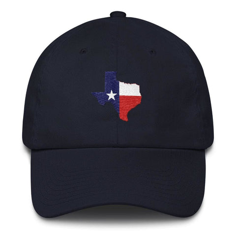 Image of Texas *MADE IN THE USA* Hat - Navy