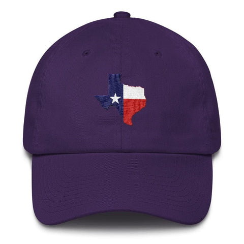 Image of Texas *MADE IN THE USA* Hat - Purple