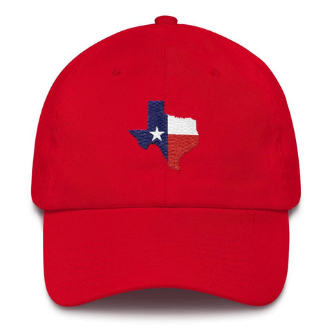 Image of Texas *MADE IN THE USA* Hat - Red