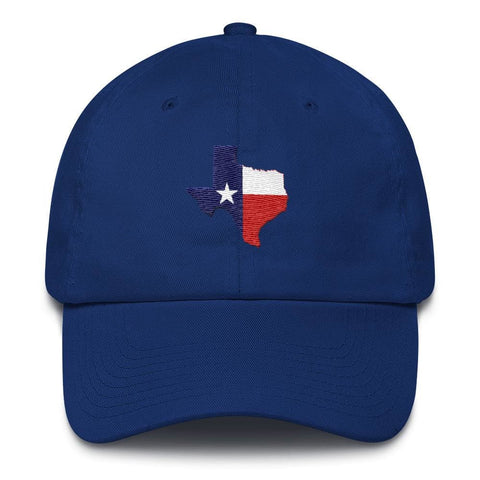 Image of Texas *MADE IN THE USA* Hat - Royal Blue