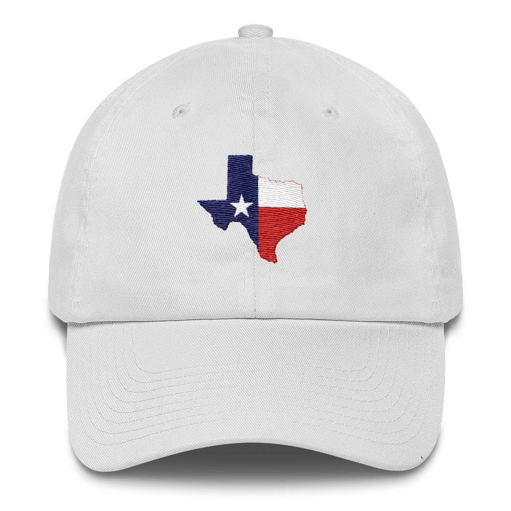 Texas *MADE IN THE USA* Hat - White