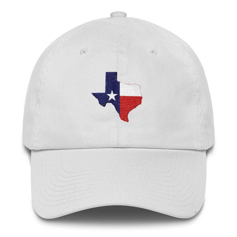 Image of Texas *MADE IN THE USA* Hat - White